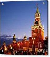 The Kremlin In Moscow Acrylic Print