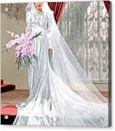 The Lady Eve, Barbara Stanwyck, 1941 Acrylic Print by Everett