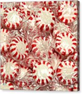 The Land Of Peppermint Candy Square Acrylic Print