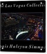 The Las Vegas Collection Acrylic Print
