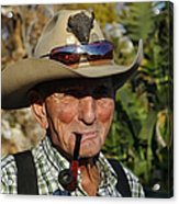 The Last Cowboy Of The West Acrylic Print