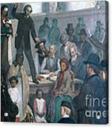 The Last Slave Sale Acrylic Print by Photo Researchers