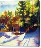 The Last Traces II Acrylic Print