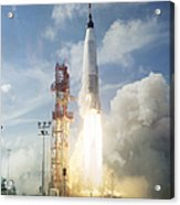The Launch Of The Mercury-atlas 4 Acrylic Print