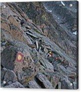 The Ledges On Longs Peak Acrylic Print