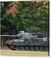 The Leopard 1a5 Main Battle Tank In Use Acrylic Print