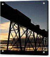 The Lethbridge Bridge Acrylic Print
