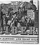 The Liberator Masthead Acrylic Print