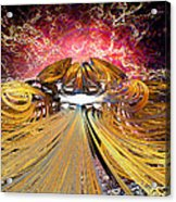 The Light At The End Of The Tunnel Acrylic Print