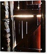 The Light Enters Barn Acrylic Print