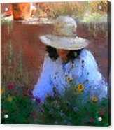 The Light Of The Garden Acrylic Print