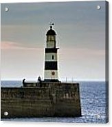 The Light Seaham Harbour Acrylic Print