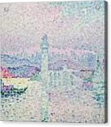 The Lighthouse At Antibes Acrylic Print by Paul Signac