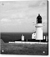 The Lighthouse At Dunnet Head Most Northerly Point Of Mainland Britain Scotland Uk Acrylic Print