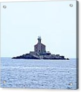 The Lighthouse Close To Primosten Acrylic Print
