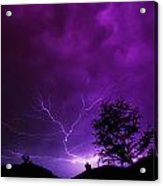 The Lightning Spread Acrylic Print