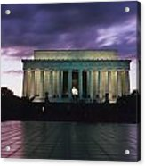 The Lincoln Memorial At West End Acrylic Print