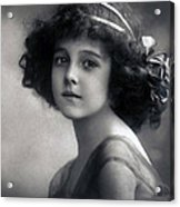 The Litte Angel 1911 Acrylic Print