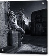 The Little Angel Recoleta Cemetery Ba Acrylic Print
