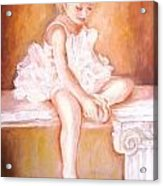 The Little Ballerina Acrylic Print