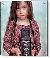 The Little Photographer Acrylic Print