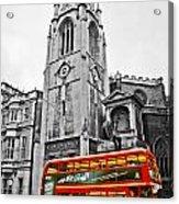 The London Bus Acrylic Print