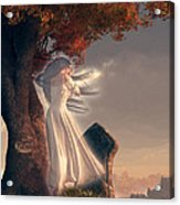 The Lonely Ghost Of October Acrylic Print