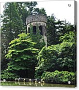 The Longwood Gardens Castle Acrylic Print