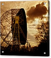 The Lovell Telescope At Jodrell Bank Acrylic Print