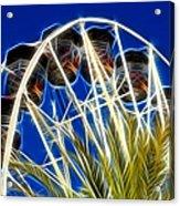 The Magic Ferris Wheel Ride Acrylic Print