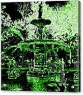 Green Savannah Acrylic Print