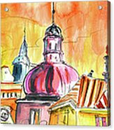 The Magical Roofs Of Prague 01 Bis Acrylic Print