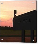 The Mail Of Old Acrylic Print by Mike McGlothlen