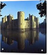 The Majestic Bodiam Castle And Its Acrylic Print