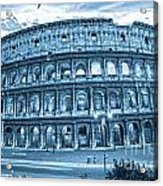 The Majestic Coliseum Acrylic Print by Luciano Mortula