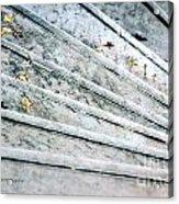 The Marble Steps Of Life Acrylic Print by Vicki Ferrari