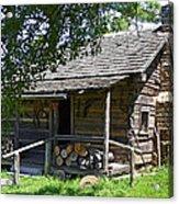 The Mark Twain Family Cabin Acrylic Print