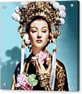 The Mask Of Fu Manchu, Myrna Loy, 1932 Acrylic Print
