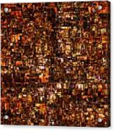 The Masses Of Metropolis Acrylic Print