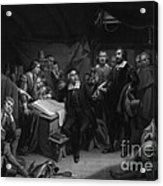The Mayflower Compact, 1620 Acrylic Print
