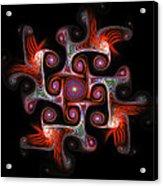 The Maze Acrylic Print