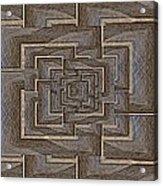 The Maze Within Acrylic Print