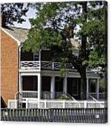 The Mclean House In Appomattox Virgina Acrylic Print by Teresa Mucha