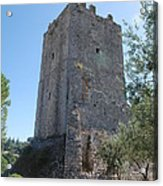 The Medieval Tower Acrylic Print