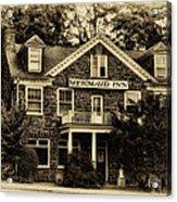 The Mermaid Inn - Chestnut Hill Acrylic Print