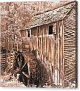 The Mill At Cade's Cove Acrylic Print