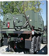 The Mk48 Logistics Vehicle System Acrylic Print