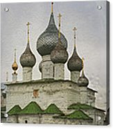 The Monastery Of The Resurrection. Uglich Russia Acrylic Print