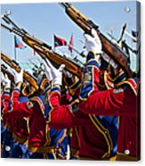 The Mongolian State Honor Guard Acrylic Print