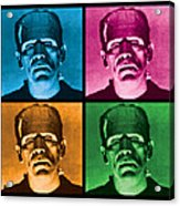 The Monster X 4 Acrylic Print by Gary Grayson